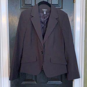 Worthington Works gray blazer 10